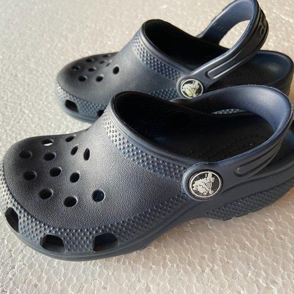 CROCS Shoes | Navy Blue Boys Size 10
